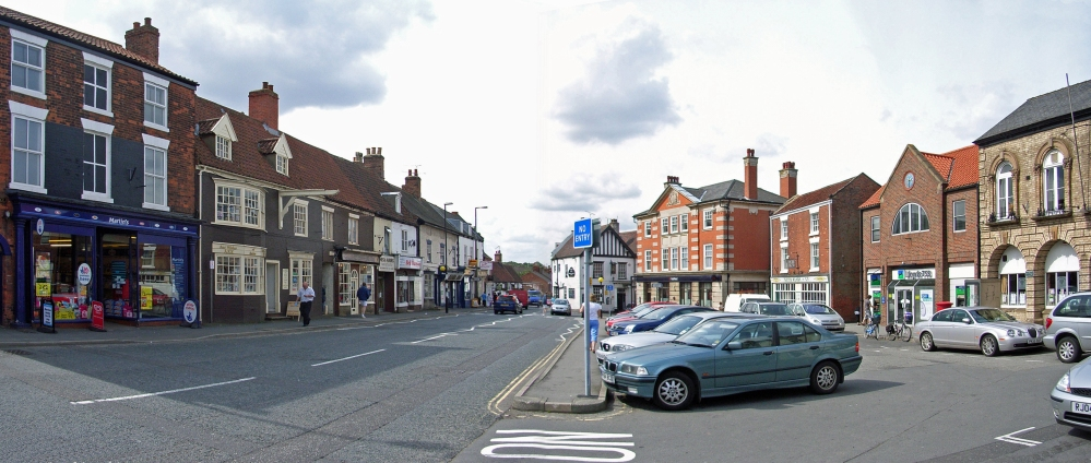Barton Upon Humber market square