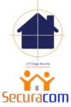 JR Clegg Security and Securacom logo