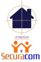 JR Clegg Security and Securacom logo